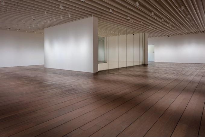 Sala espositiva al quinto piano
