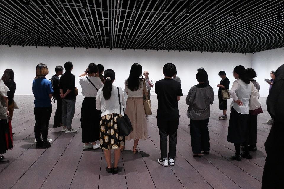 プレオープンプログラム スクールプログラム「来て、見て、アーティゾン美術館」