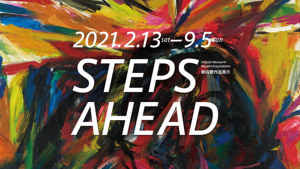 STEPS AHEAD: Recent Acquisitions 新収蔵作品展示